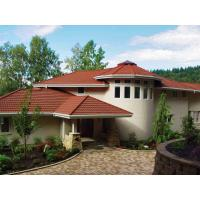 Buy cheap Color Stone Chip Coated Steel Roof Tile Production Line in the Villa Field product