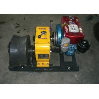 China 5 Ton Diesel Engine Cable Winch Puller With 400 Diameter Cable Capstan for Wire Rope Pulling wholesale