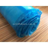 Buy cheap Blue High Absorbent EPE Foam Sheet OEM Silent Flooring Underlay PE Film Laminating Floor product
