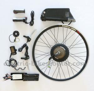 Gear Motor Electric Bike Conversion Kits 36V 250W 10.4Ah Samsung Cells