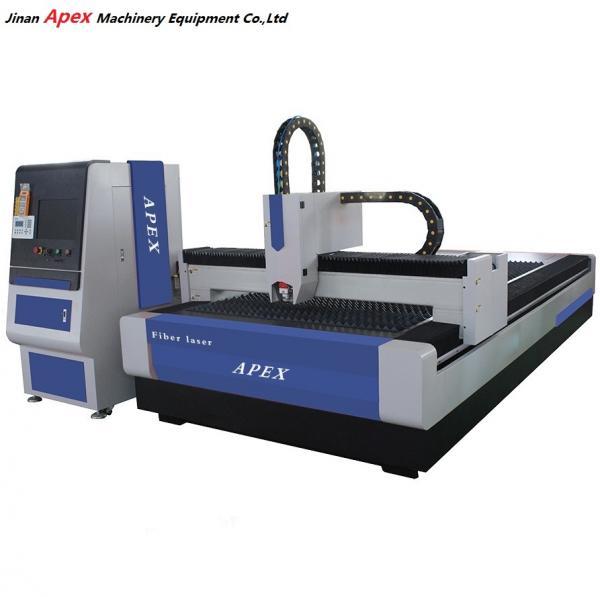 Metal Sheet Fiber Optic Laser Cutter , Laser Metal Cutting ...