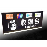 Buy cheap Supermarket Checkout Counter Led Directional Signs With Ceiling Hanging Design product