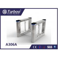 Buy cheap ADA Compliant Automatic Swing Barrier Gate Double Anti - Clipping Function product