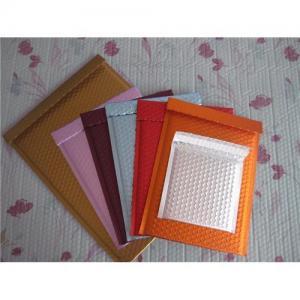 Buy cheap Matte Metallic Bubble Envelope with PE Bubble and Matte Color Metallic Film product