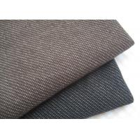 Buy cheap Stylish Brown / Black Knit Denim Fabric For Sportswear / Suit Width 180cm product
