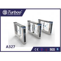 Buy cheap Office Security Swing Electronic Turnstile Gates Mechanical Anti - Pinch Function product