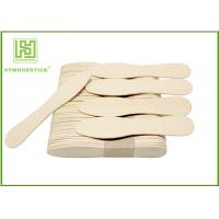 Buy cheap Eco - Friendly Birch Wooden Ice Cream Spoons Customized Logo And Package product