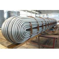 Buy cheap 304 316 U Bend Stainless Steel U Tube For Heat Exchange ASTM A213 Standard product
