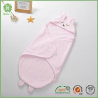 China Super Soft Anti-pilling Polar Fleece Baby Swaddle Blanket With Hood on sale