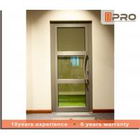 Buy cheap Soundproof Aluminium Casement Door With Double Glazed Glass Color Optional glass from wholesalers