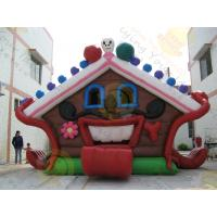 Buy cheap Huge Eye - Catching Advertising Inflatable Castle Bouncer For Childrens Party product