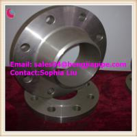 China ASTM A105 weld neck flanges on sale