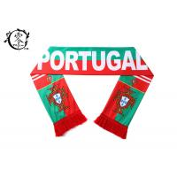 Buy cheap One Size Sports Team Sublimation Scarf Portugal With Logo Printing product