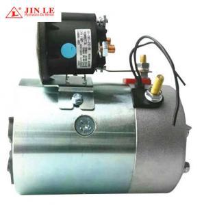 Buy cheap Carbon Brush Hydraulic Pump Motor 12 V 1.6 KW 114mm O.D. 6N.M Torque product