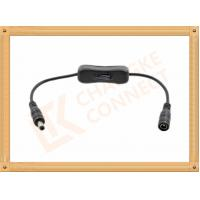 Buy cheap 12V DC Male to Female Custom Cable Assembly With Switch On Off product