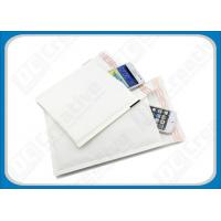 Buy cheap Non-Toxic Glossy White Kraft Paddedbubble Mailers Self-Seal Mailing Envelopes product