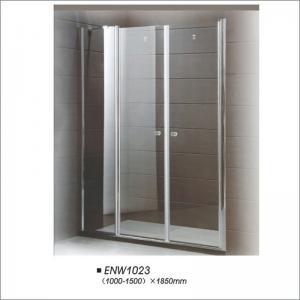 Buy cheap Bathroom 6mm Pivot Shower Screen for For Hotel / Home / Vila Using product