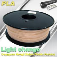 Buy cheap Light Change ABS 3D Printer Filament 1.75mm / 3.0mm Filament For 3D Printing product