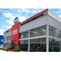 China Wide Span Bolte Steel Frame Structure Pre Construction Building For Warehouse on sale