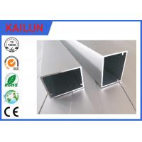 Quality HVAC Systems Aluminium Frame Section Profile , Hollow Extruded Aluminum Rectangular Tubing for sale