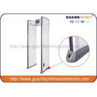 Buy cheap OEM / ODM 6 multi zones high sensitive Walk Through Metal Detector Door Frame product