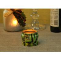 Buy cheap Eco Friendly Tin Candle Holders Anti Thermal Candle Wax Shock Resistant product