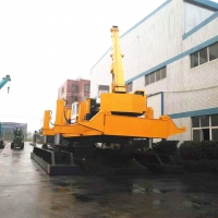 Buy cheap PHC Pile Foundation Equipment With Color Customized 460T Piling Capacity 9.0m/min Piling Speed product