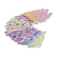 Buy cheap House Exfoliating Bath Mitt Body Wash Gloves Wave Pattern Printed product