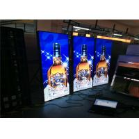 Buy cheap WiFi Remote Control LED Poster Display Wall Mounted Exhibition Stand LED Banner from wholesalers