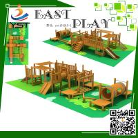 Buy cheap Security Wooden Playground Equipment Yst151015-1 Two Years Warranty product