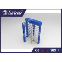 Buy cheap Full Height Security Controlled Access Turnstiles With RFID Card Reader product