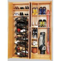 Buy cheap ABS & Steel Rotating Closet Shoe Racks Storage, Modern Stackable Revolving Shoe Rack product