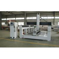 Buy cheap Plywood / PE / Foam 5 Axis CNC Router Machine With Economic 5 Axis Head product