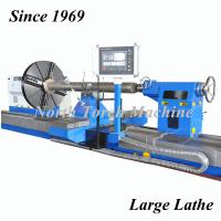 China Industrial Horizontal Lathe Machine With 2 Guide Rails For Turning Crankshaft on sale