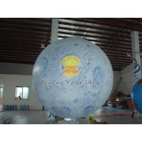 Buy cheap Big Reusable Inflatable Advertising Earth Globe Balloons for science demonstration product