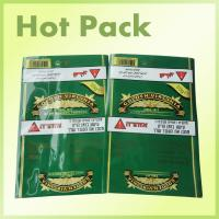 Buy cheap Self Adhesive Smokeless Chewing Tobacco Pouches , Small Plastic Bags For Drugs product