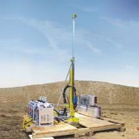 Buy cheap 21MPa / Max 54L / Min Portable Core Drill Rig Water Cooler ISO9001 Certification product