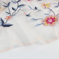 China 3d Guipure Lace Multi-Color Embroidery Lace Fabric For Garment on sale