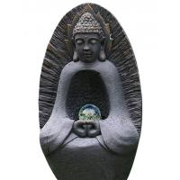 """Buy cheap Statue Water Fountain Buddha 37"""" , Large Buddha Water Feature With Crystal Ball product"""