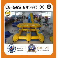 Buy cheap 2015 high quality inflatable water games flyfish banana boat product