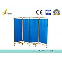 Buy cheap 2000*1800 Stainless Steel Hospital Privacy Screens Mobile Folding Hospital Ward Screen (ALS-WS05) product
