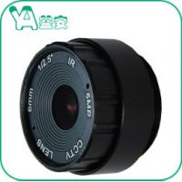 70 Degree 0.2mm M.O.D CCTV Camera 6mm Lens For Mini Surveillance Camera