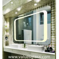 Buy cheap 4mm Polished Silver Mirror LED Bathroom Mirrors With Touch Scree Switch product