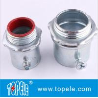 Buy cheap Steel Material EMT Conduit And Fittings EMT Compression Insulated Connector product