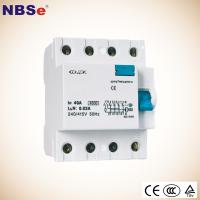 China NBSe BF60 Series Residual Current Device 6A-63A Earth Leakage Protection on sale