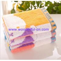Buy cheap Promotional best terry kids cute monogrammed hand towels product