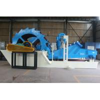 Buy cheap Big capacity river sand washing plant with polyurethane screen and cyclones from factory product