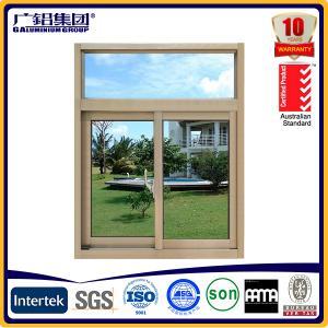Buy cheap cheap price aluminium glass sliding windows with mosquito net product