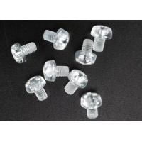 Clear Plastic Phillips Round Head Metric Micro Screws For Electronics M3 X 5