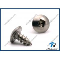 Buy cheap Passivated Stainless Steel 410 Square Drive Truss Head Sheet Metal Screws product